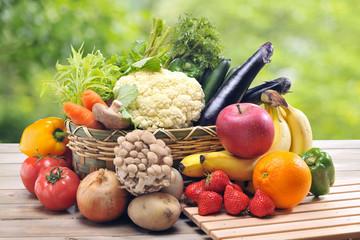 Keuken foto achterwand Keuken 野菜とフルーツ