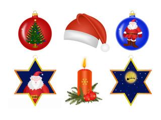 Weihnachtsmotive, Icons