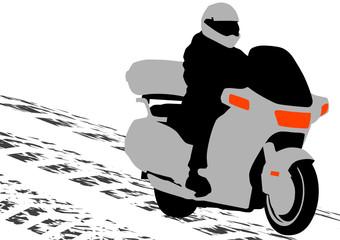 Fotomurales - Bike motor
