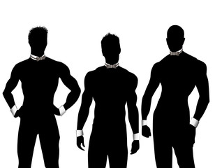 Three Chippendales