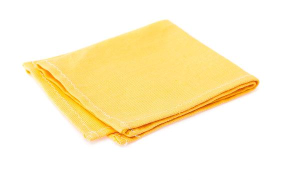 Yellow napkin