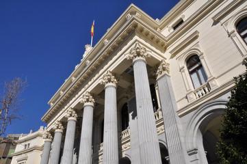 Stock Exchange building, Madrid (Spain)