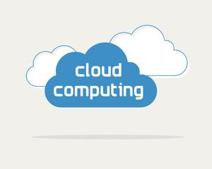 cloud computing concept, web data