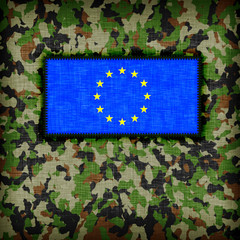Amy camouflage uniform, EU