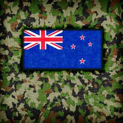 Amy camouflage uniform, New Zealand