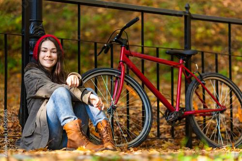 zhenshina-i-velosiped-foto