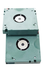 Two cartridge tapes