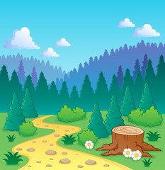 Forest theme image 2