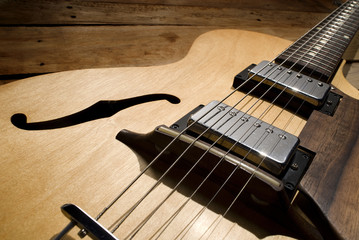 Wall Mural - vintage electric guitar