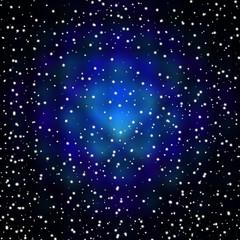 звездное небо на черном фоне