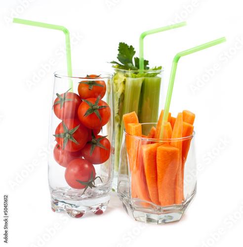 роли, как подать овощи в стакане уходом, году