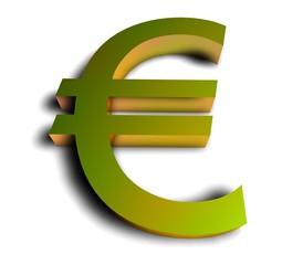 3D Goldzeichen - Euro III
