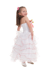 girl in a ball gown
