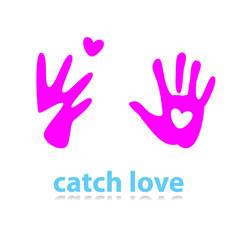 catch-love-heart