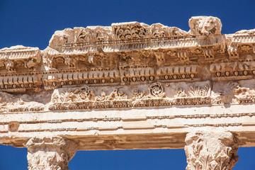 Baalbek - Säulenverzierungen