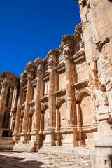Innenmauer Tempel - Baalbek