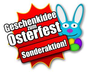 """Siegel """"Geschenkidee zum Osterfest - Sonderaktion!"""""""