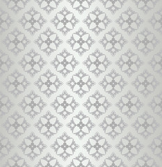 Seamless floral wallpaper diamond pattern
