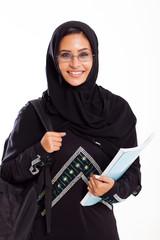 female Arabian university student