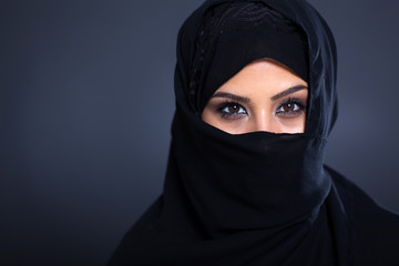mysterious Arabian woman