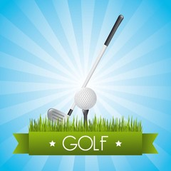 golf illustration