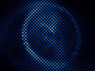 Blue Dark multicolor abstract light  background  mosaic vector