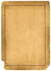 1800s Antique Parchment Paper Background Texture