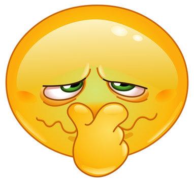 Bad smell emoticon