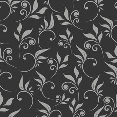 seamless  flower abstract pattern vector