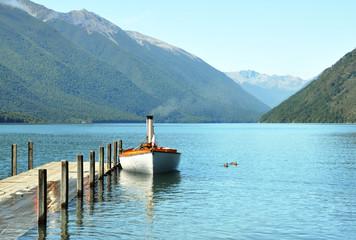 Photo sur Plexiglas Nouvelle Zélande Lake Rotoiti, Nelson Lakes District, New Zealand