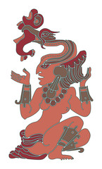 woman - goddess of waters