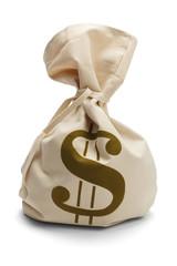 Tied Money Bag