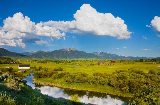 Countryside in eastern Idaho