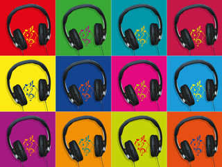 Casque_Audio_Fonds Couleurs