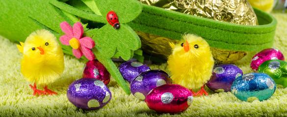 split easter eggs