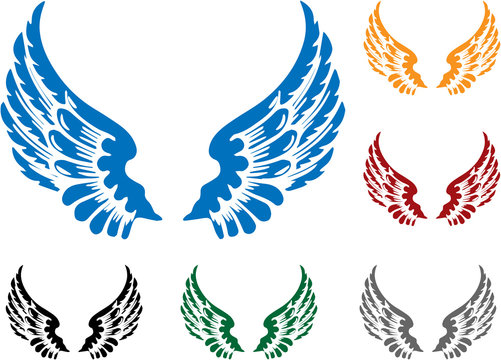 Colorful Wings Set
