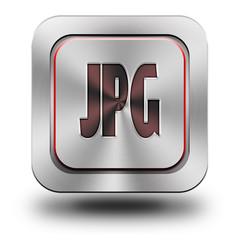 JPG aluminum glossy icon