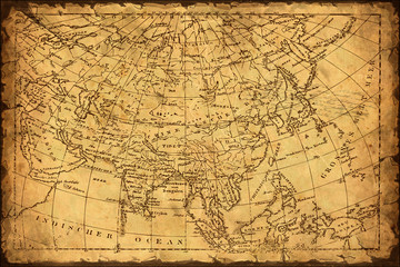 Retroplakat - Asien
