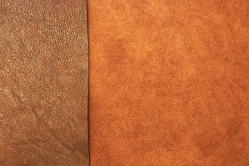different types of leather texture background