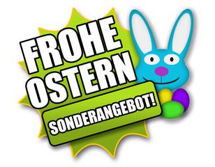 """Siegel """"Frohe Ostern - Sonderangebot !"""""""