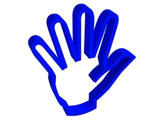 five blue