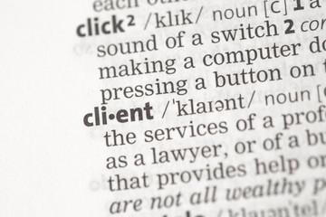 Client definition