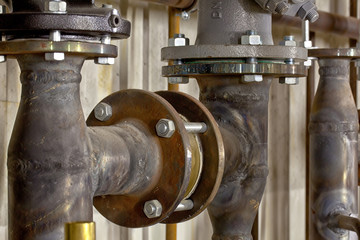 Industrieanlage, Gas,- Wasseranlage, Wärmepumpe