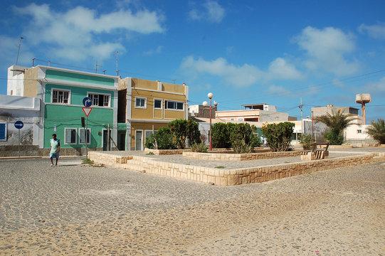 Sal Rei (Chef-lieu de l'île de Boa Vista / Cap-Vert)