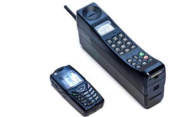 Handy groß und klein