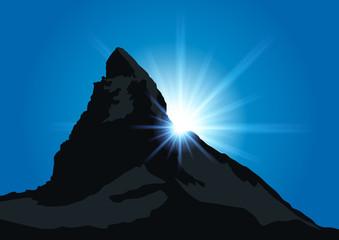 Montagne le Cervin