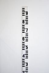 Ruler numbered