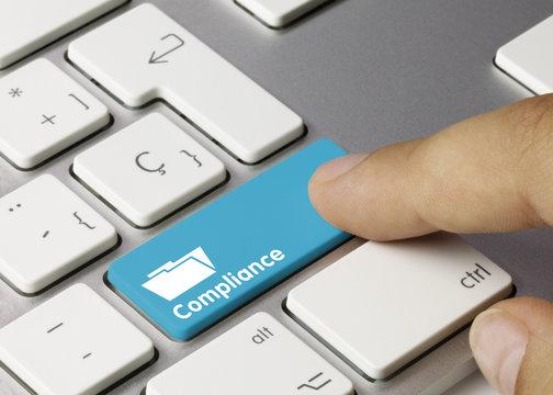 Compliance Tastatur Finger