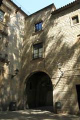 Plaza San Felipe Neri Gothic quarter Barcelona Catalonia Spain