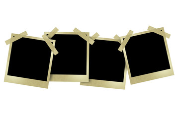 Ppolaroid style photo frames
